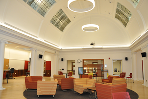 The inside of the newly renovated NHB