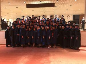 Graduates and Faculty of the School of Earth, Society and Environment, 2019